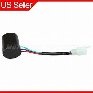 Turn Signal Relay Flasher 3 Wire Round For Gy6 50cc