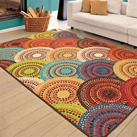 Colorful Throw Rugs by Rugs Area Rugs Carpets 8x10 Rug Floor Modern Colorful