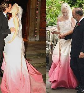gwen stefani dip dye wedding dress style beauty With gwen stefani wedding dress