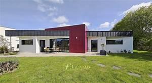 Maison Architecte Plain Pied : arradon maison d architecte de plain pied ~ Melissatoandfro.com Idées de Décoration
