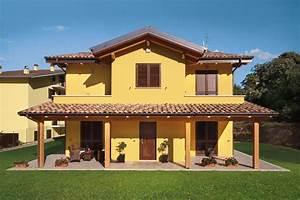 Casa a due piani L'Aquila Abruzzo Costantini Sistema Legno