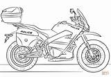 Coloring Police Motorcycle Pages Printable Drawing Paper Dot sketch template