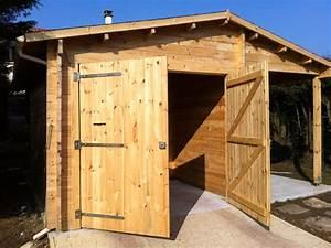 installation dun garage en bois les etapes de montage With montage d un garage en bois