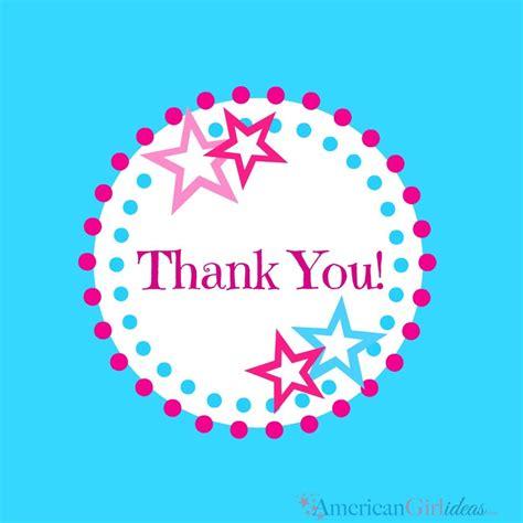 American Girl Thank You Cards • American Girl Ideas