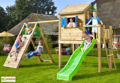aire de jeux jungle playhouse l bois toboggan balan 231 oire escalade jeux jungle toboggan et