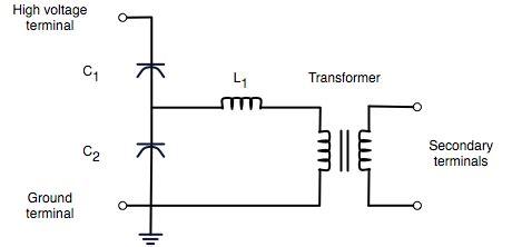capacitor voltage transformer wikipedia