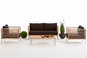 Lounge Gartenmoebel Guenstig : gartenm bel holz lounge rio ~ Markanthonyermac.com Haus und Dekorationen