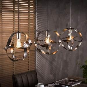 Lampe Mit Mehreren Lampenschirmen : esszimmer lampe esstischlampe twist mit 3 lampenschirmen gedreht ~ Markanthonyermac.com Haus und Dekorationen