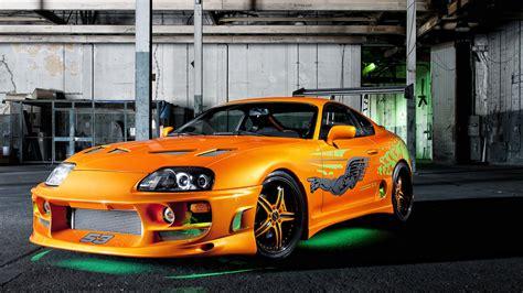 Orange Supra Car Wallpaper 1080p-free Hd Resolutions