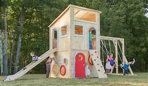Jeux Exterieur Bois Enfant : beautiful jeux exterieurs en bois 3 aire de jeux ~ Premium-room.com Idées de Décoration