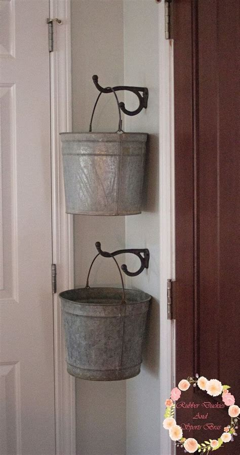 galvanized tub  bucket ideas  designs