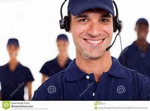 Professional It Technician Stock Photo