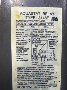 I Need An Aquastat    The One I Have Is A Honeywell L8148e  All