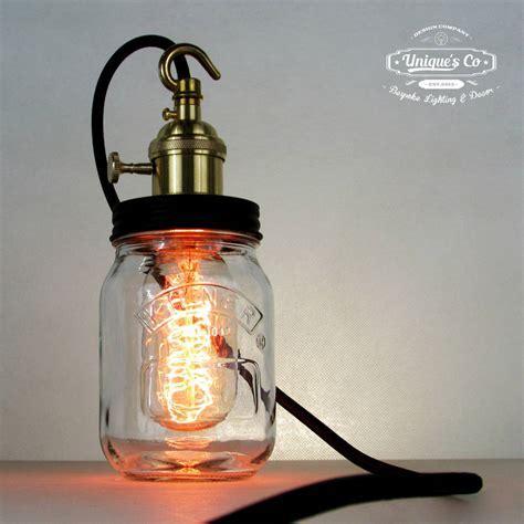 Contemporary Jam Jar Lamp ? Unique's Co.