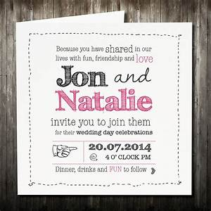 personalised sketch wedding invitation with rsvp by violet With wedding invitation rsvp percentage