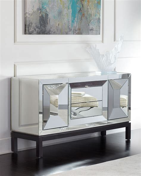 Mirrored Sideboards And Buffets by Timandra Mirrored Buffet Neiman