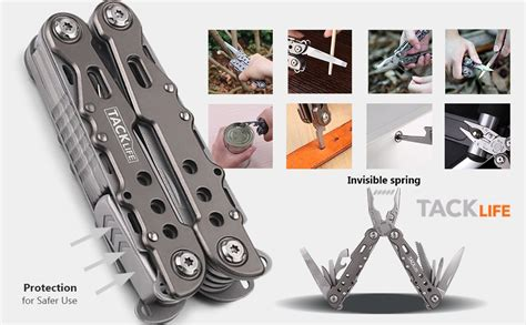 tacklife multifunctional multitool camping fishing amazon pliers knives pocket multi tools office muliti ensuring impressive anything tool ready features