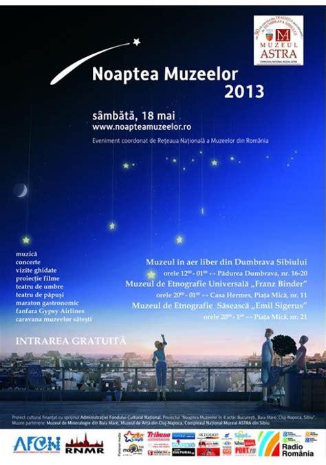 Noaptea muzeelor | Sărbătoarea europeană a muzeelor