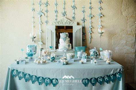 Decoration Table Bapteme Le Bar Kit Anniversaire D 233 Coration Sweet Table Sweet Table Bapt 234 Me Henryk Baby Shower
