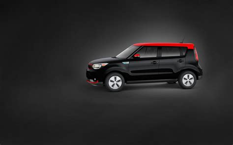 kia soul  black  red wallpaper