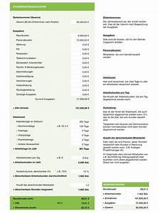 Stundensatz Berechnen Selbstständig : numbers vorlage stundensatzkalkulation einnahmenkalkulation ~ Themetempest.com Abrechnung