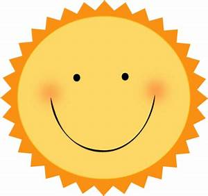 Smiling Sun Face | Clipart Panda - Free Clipart Images