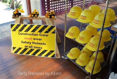 construction truck themed 1st birthday party planning ideas 40 construction themed birthday party ideas hative