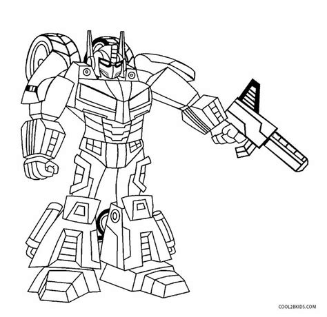printable robot coloring pages  kids coolbkids