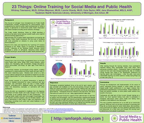 poster    training  social media