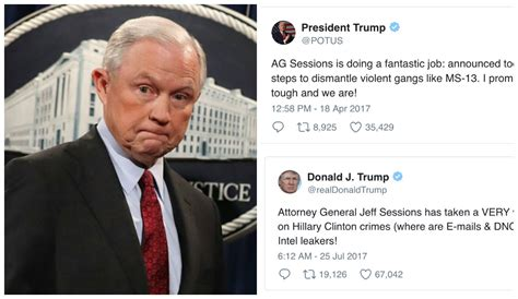 trump  sessions   relationship played