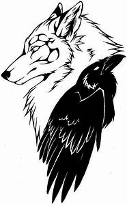 50+ Wolf and Raven Tattoos With Meaning