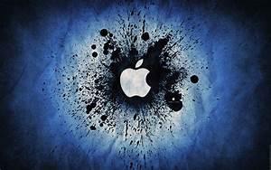 Blue Apple Logo Wallpapers HD Wallpaper of Logo ...