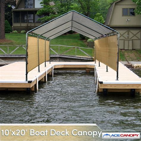 deck boat canopy