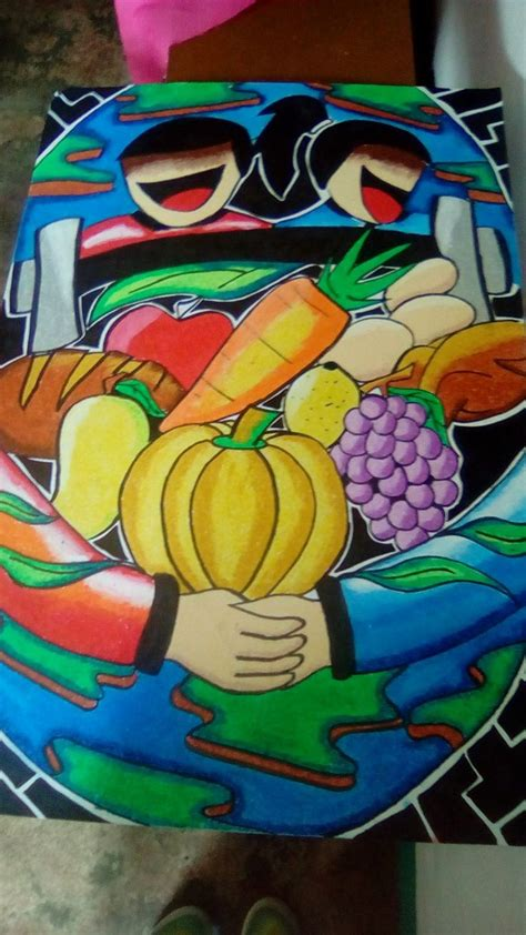 nutrition month posters  theme ugaliing magtanim