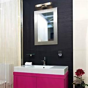 Appliques Murales Salle De Bain : applique murale niger nickel mat salle de bain faro ~ Melissatoandfro.com Idées de Décoration