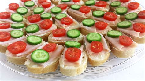 canape home smoked turkey canapes valya 39 s taste of home
