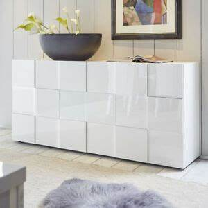 Weiß Hochglanz Sideboard : sideboard wei hochglanz anrichte kommode dama 1 3d optik ebay ~ A.2002-acura-tl-radio.info Haus und Dekorationen