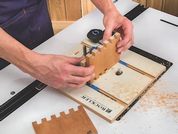 rockler router table box joint jig contractor supply