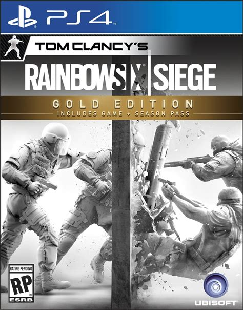 siege ps4 rainbow six siege gold edition box certainly is