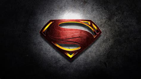 Superman Man Of Steel Logo Wallpaper High Quality ...
