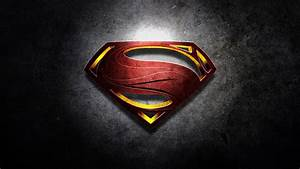 Superman Man Of Steel Logo Wallpaper High Quality