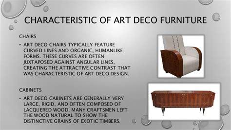 deco style characteristics deco
