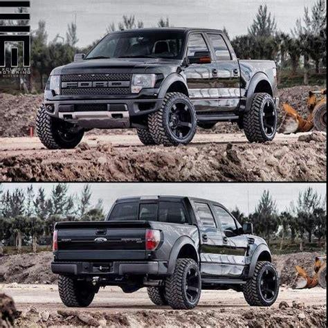 Ford F150 Raptor Black Wallpaper HD