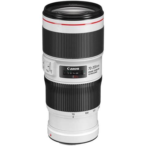 70c in f canon ef 70 200mm f 4l is ii usm lens 2309c002 b h photo