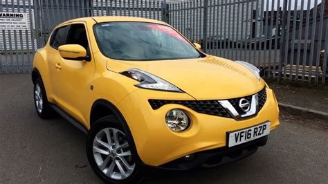 Nissan Jukes For Sale by Used Nissan Juke Yellow Cars For Sale Motorparks