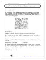 scientific notation word problems worksheet scientific notation word problems worksheets