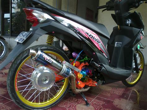 Foto Modification Motor Beat by Variasi Motor Beat 2014 Modifikasi Yamah Nmax