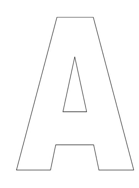 the alphabet templates template alphabet letters to print letter of recommendation