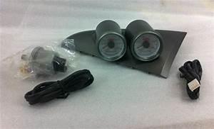 Ford Falcon Ba Dual Gauge Cup Holder W Boost  U0026 Oil