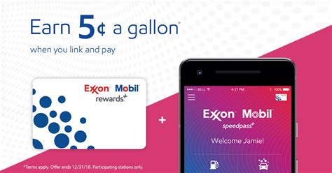 gas rewards save  gas exxon  mobil
